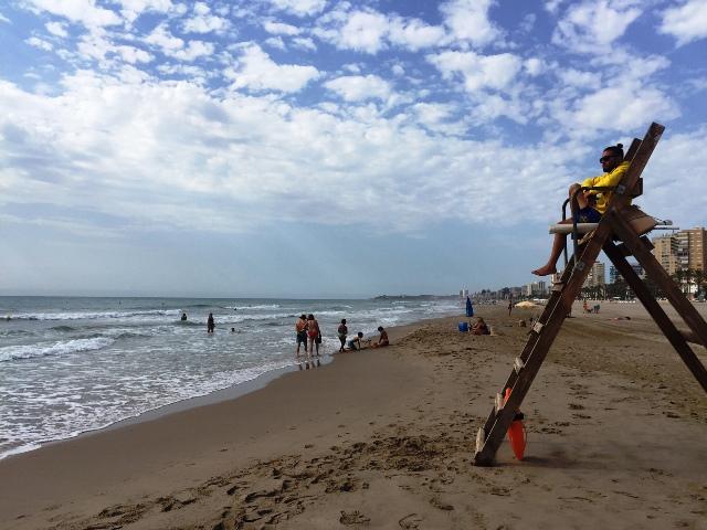 tiempo en alicante playa san juan