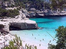 Playa Mitjana (Menorca).