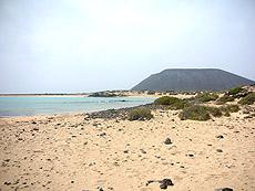 Playa de la Concha (Isla de Lobos)