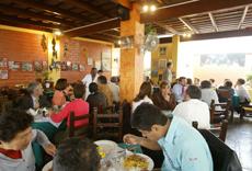 El restaurante.