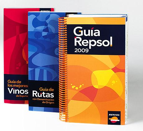 El 'pack' de las tres Guías Repsol.
