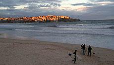 La arena dorada de Bondi Beach.