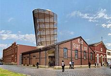 Recreación del museo Red Star Line.