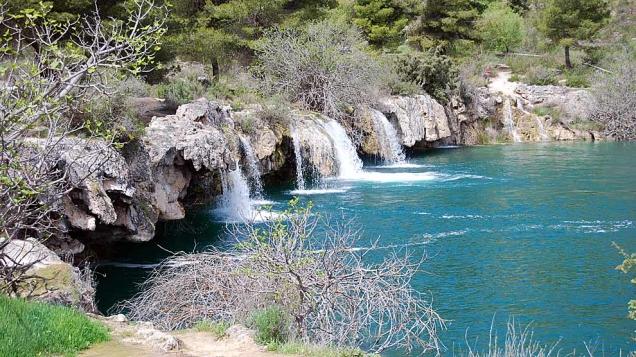Cascadas de las Lagunas de Ruidera