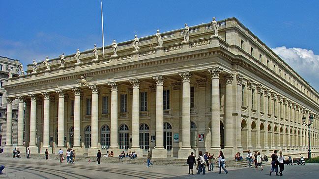Le Grand Theatre de Burdeos.