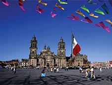 Palacio de Bellas Artes en el centro hist�rico de la capital mexicana.