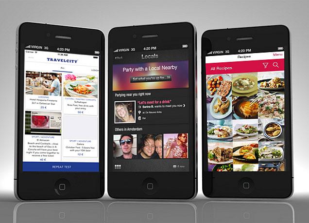Existen cada d�a m�s apps para descubrir un nuevo destino con los ojos de un local.