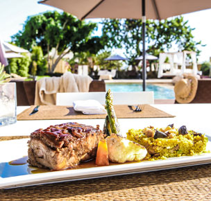 Orgullo culinario local y chefs con mucho talento se unen en la isla balear.