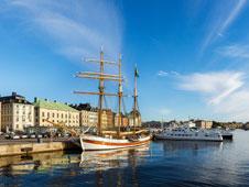 El Ayuntamiento de la capital sueca.