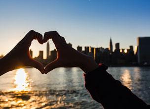 La ciudad de Nueva York es uno de los destinos top para los usuarios de la aplicaci�n.
