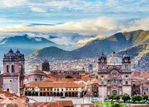 La ciudad de Cuzco con la cordillera de los Andes de fondo. Fotograf�a: Shutterstock