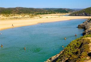 Playa de Armona-Ria, en la paradis�aca Isla de Armona.