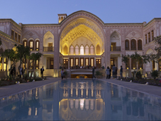 Mezquita de Sheikh Lotfollah en la ciudad de Isfahán.