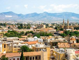 Casco antiguo de Nicosia. Foto: Shutterstock.